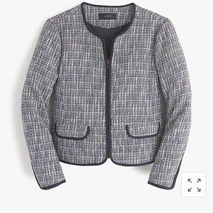 J.Crew tweed jacket-blazer
